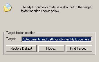 backing up my documents - right click