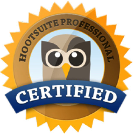 Hootsuite Social Media Marketing Certified